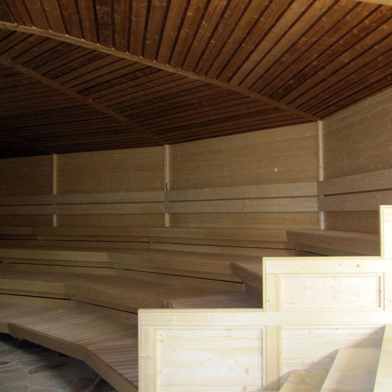 Sauna - Garten - SpreewaldHaus Zimmereibetrieb